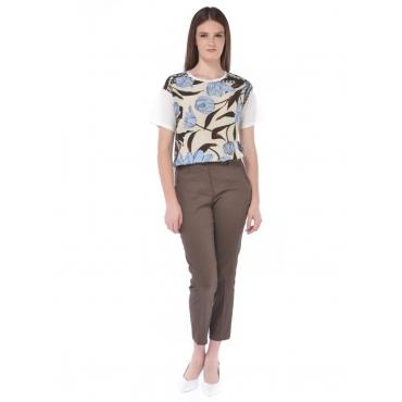 Seventy T Shirt Manica Corta Donna Bianco