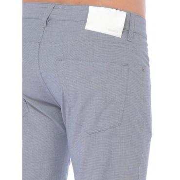 Siviglia Pantalone 5 Tasche Uomo Bianco