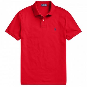 Polo rossa Custom Slim Fit RL2000RED