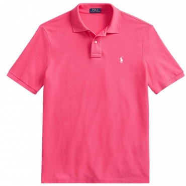 Polo Slim Fit rosa HOTPINK/C274
