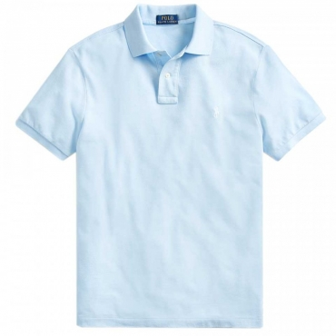 Polo azzurra Slim Fit ELITEBLUE/C1