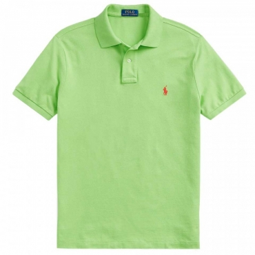 Polo slim fit Kiwi Lime KIWILIME/C38