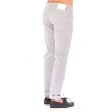 Siviglia Pantalone 5 Tasche Uomo Grigio