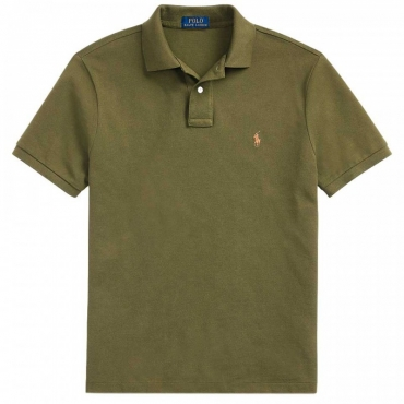 Polo slim fit Defender Green DEFENDERGREE