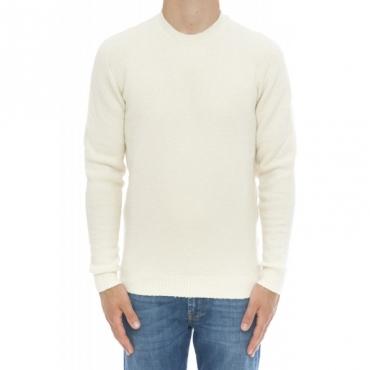 Maglieria - Rd45001 cotone super soft effetto bouchel 2 - Bianco