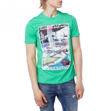 T-shirt con stampa Street Style 3637SPRINGG