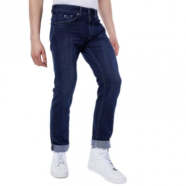 Jeans Morris in denim scuro WK24