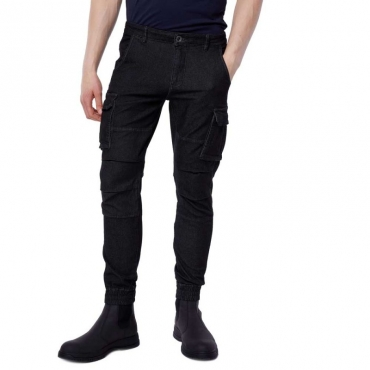 Pantalone cargo Bob Gym Up 0200BLACK