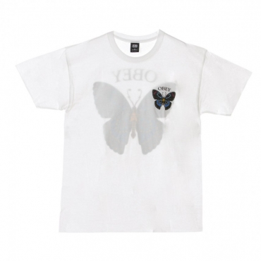 MAGLIETTA BUTTERFLY BASIC WHITE