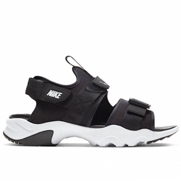 NIKE CANYON SANDAL Donna BLACK/WHITE/BLACK - CV5515 001