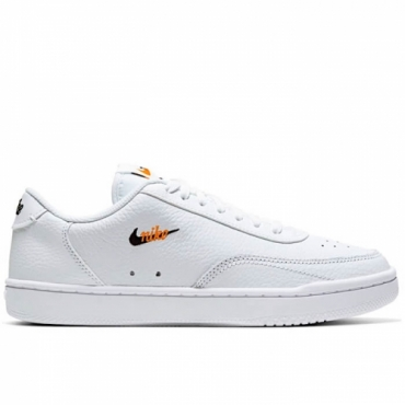 NIKE COURT VINTAGE PREMIUM Donna WHITE/BLACK/TOTAL ORANGE - CW1067 100