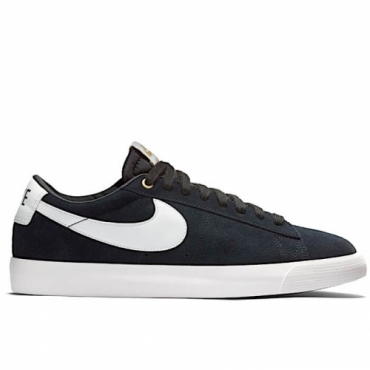 NIKE SB BLAZER LOW GT BLACK/SAIL - 704939 001