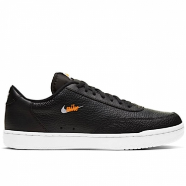 NIKE COURT VINTAGE PREMIUM BLACK/WHITE/TOTAL ORANGE - CT1726 002