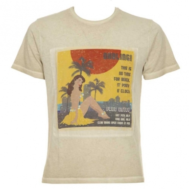 T-shirt Seated Pin Up 126FBONEWHIT