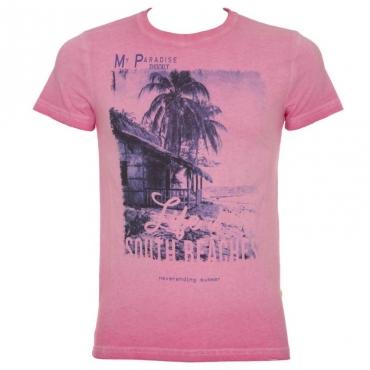T-shirt rosa fluo My Paradise 1T1816AZALEA