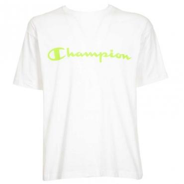 T-shirt con logo centrale WW001WHT