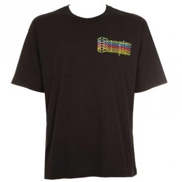 T-Shirt over in cotone con logo KK001NBK