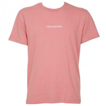 T-shirt in cotone organico con micro logo VAZBRANDIEDA