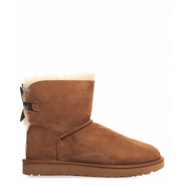 Boot Mini Baily Bow marrone
