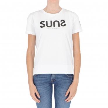 T-SHIRT SIMONA W SUNS WHITE