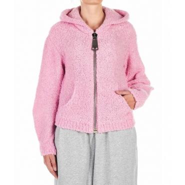 Teddy Hoodie pink