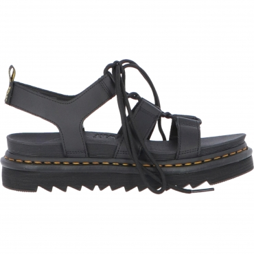 SANDALO NARTILLA LEATHER BLK DR MARTENS  NERO