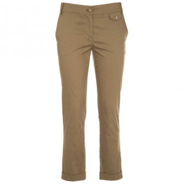 Pantalone chino in popeline stretch G487IGUANAGR