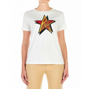 T-shirt Anacleto bianco