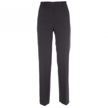 Pantaloni flare elasticizzati 754BLU