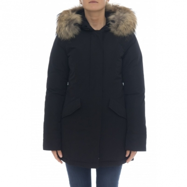 Parka Donna - WWOU0296 fr luxury artic parka fr 100 - Nero