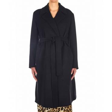 Cappotto Bale in misto lana vergine nero