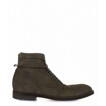 Stivali di pelle grigio