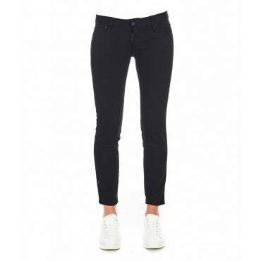 Jeans Jennifer Cropped nero