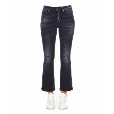 Boot Cut Jeans Mandy grigio scuro