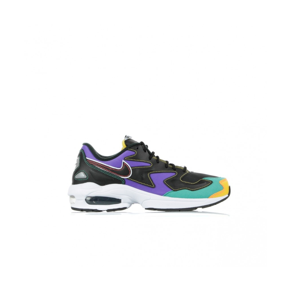 SCARPA BASSA AIR MAX2 LIGHT PRM BLACK/FLASH CRIMSON/KINETIC GREEN