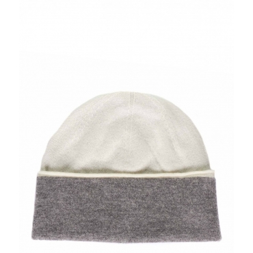 Beanie Double in cachemire multicolore