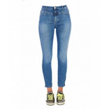 Jeans Skinny Pusher blu