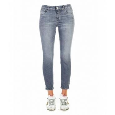 Jeans Baker blu