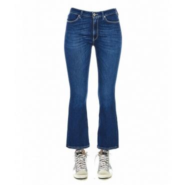 Jeans Mandy blu scuro