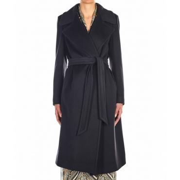 Cappotto cashmere Molly nero