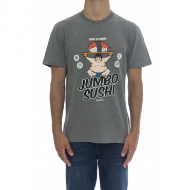 T-shirt - Cpt40121 t-shirt 34 - grigio