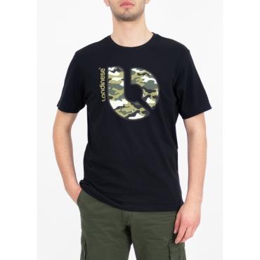 maglietta nera militare londinese NERO