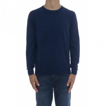 Maglia uomo - K40105 maglia girocollo 12 - Royal