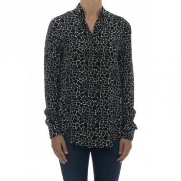 Camicia donna - Giselle 75502 camicia viscosa stampa 003
