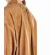 Camicia oversize Sienna marrone chiaro