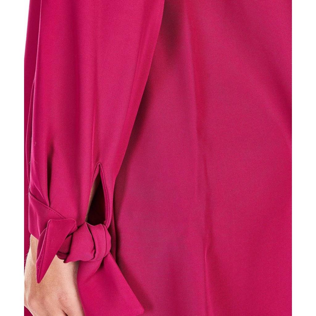 T-Shirt con scollatura a V pink
