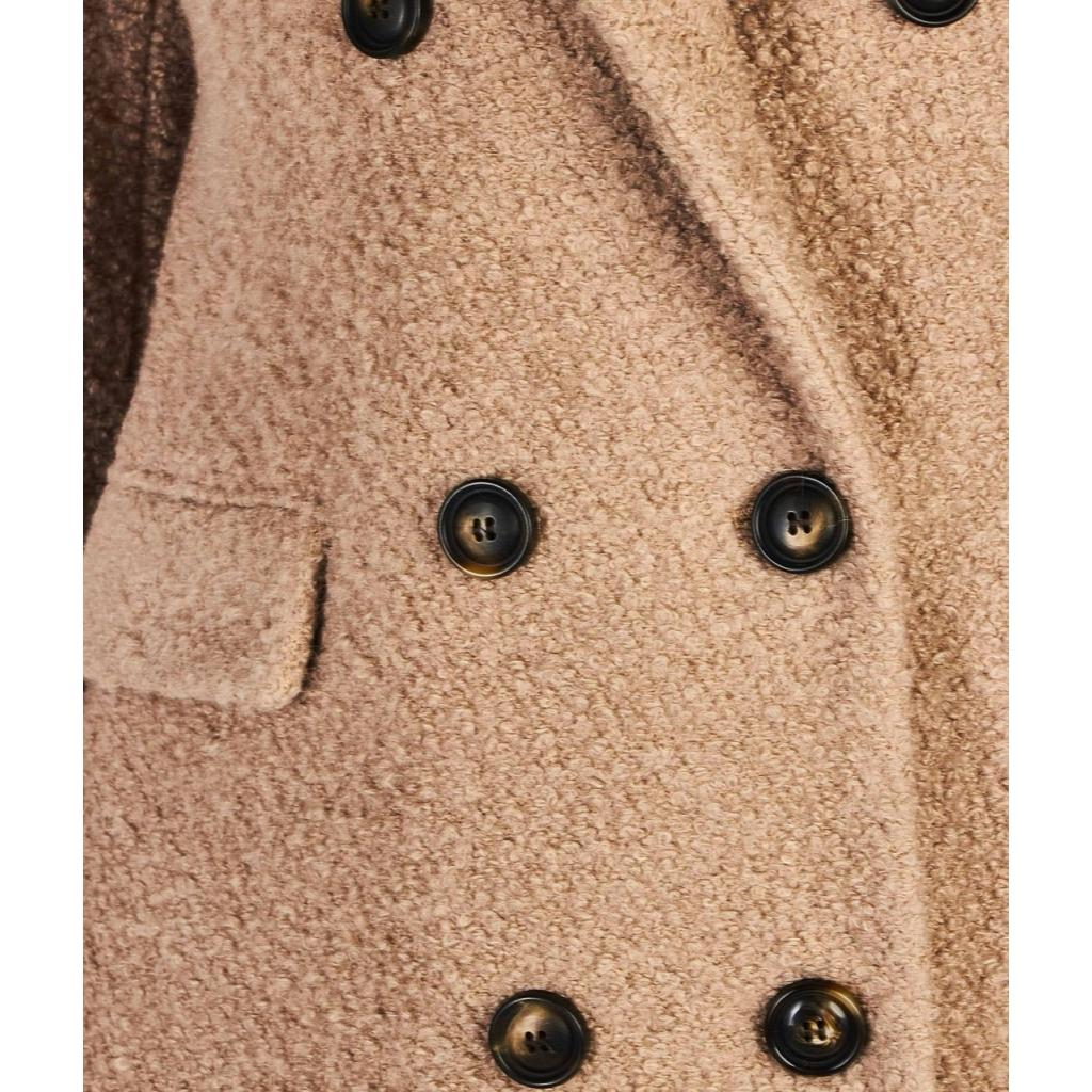 Cappotto in Boucl beige