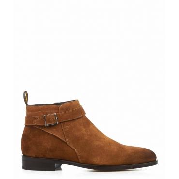 Stivali in pelle camosciata Point marrone chiaro
