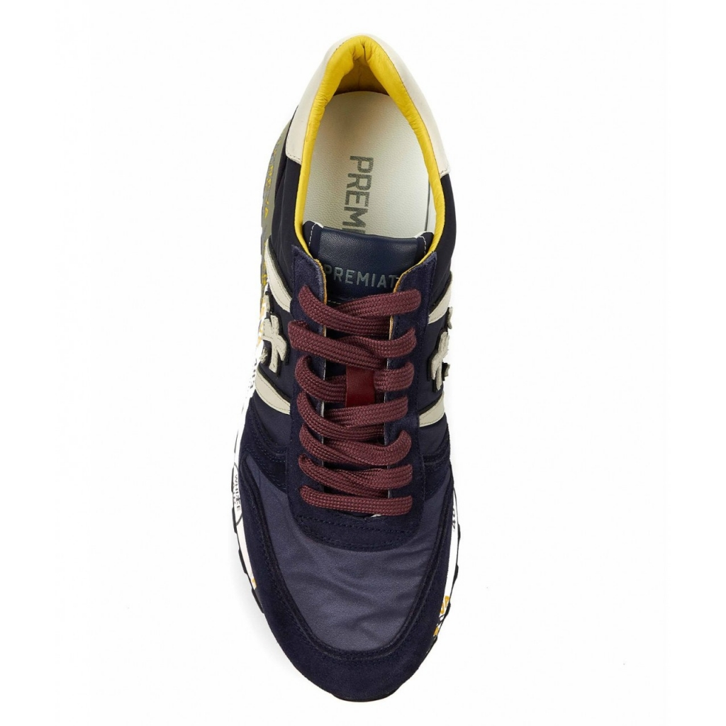 Sneaker Lander blu scuro