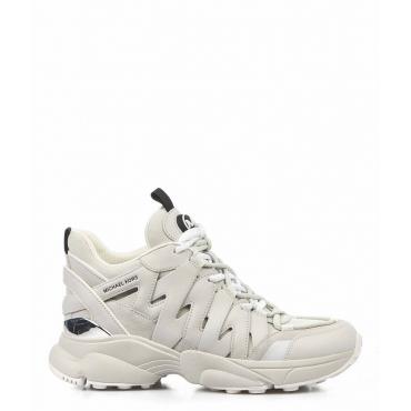 High Sneaker Hero Trainer grigio chiaro